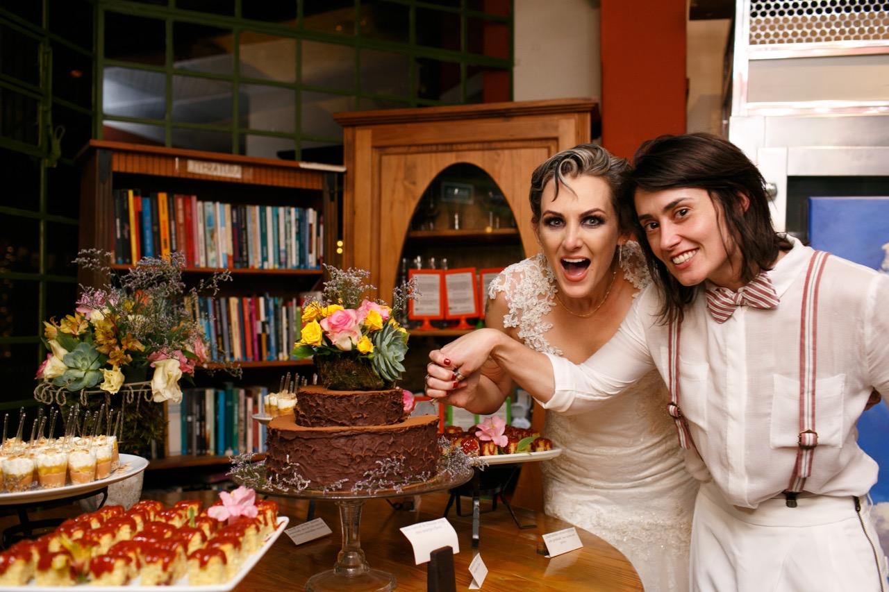 Casamento Cacá e Fabi; confira cardápio e fotos!