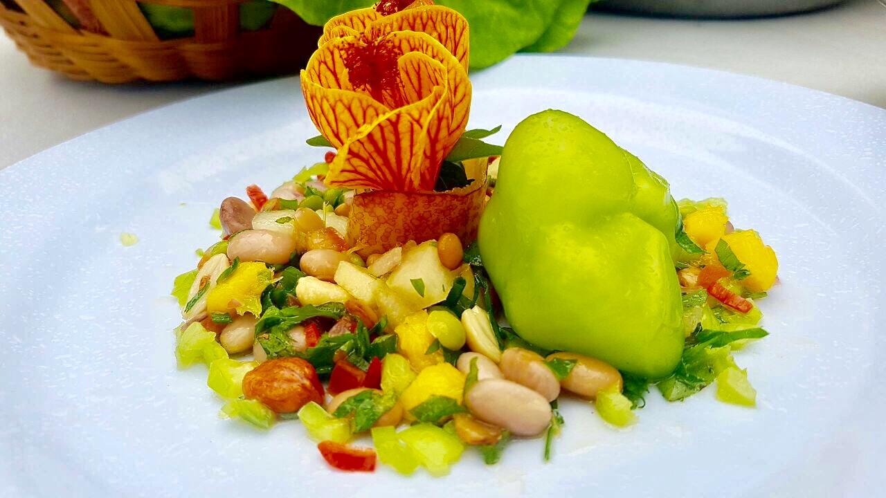 Salada Fria de Grãos com Frutas e Ervas, confira a receita!