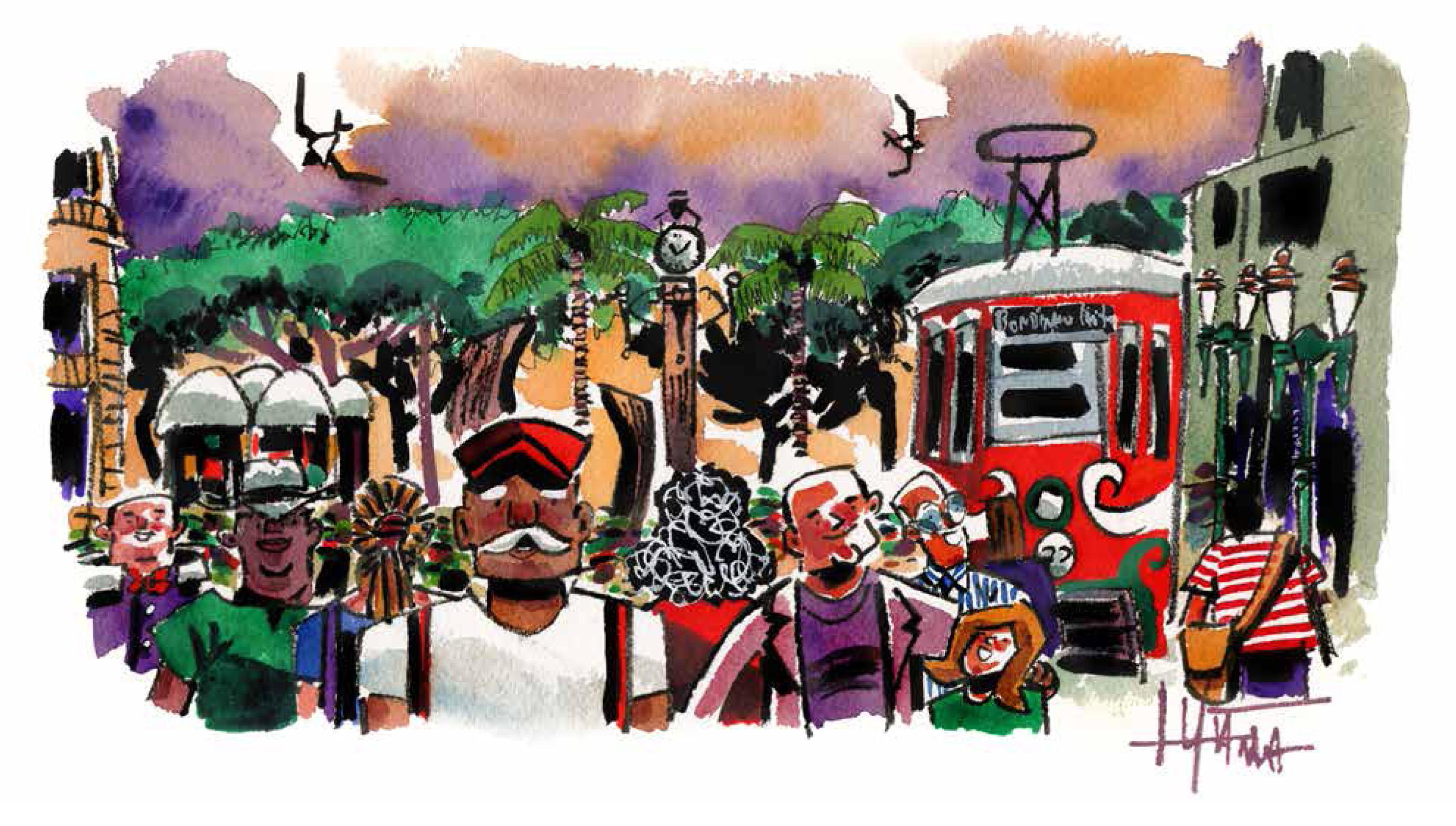 Urban Sketchers abrem exposição no Quintana neste sábado, 23 de setembro